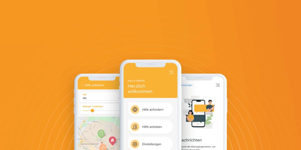 Mobile App Bringle zur Corona-Krise für ganze Deutschland